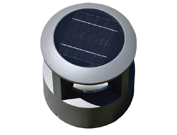 Solar powered bollards with lights